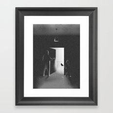 Friends From The Dark Room Framed Art Print