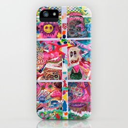 Subconsious Safari By Artist Jeff Parrott Psyexpression iPhone Case