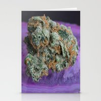 medical Stationery Cards featuring Jenny's Kush Medical Weed by BudProducts.us