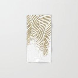Summer Palm Leaves #1 #tropical #decor #art #society6 Hand & Bath Towel