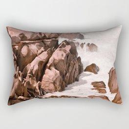Kiss of the Sea II Rectangular Pillow