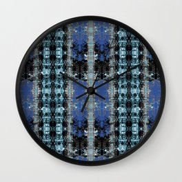 Bleached Ice Wall Clock