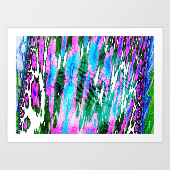 advanced outlines Art Print