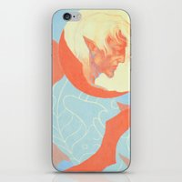 dragon age iPhone & iPod Skins featuring Dragon Age: Fenris by Couple Of Kooks