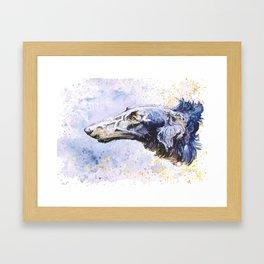 Borzoi Framed Art Print