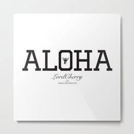 ALOHA 1 Metal Print