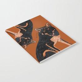 Black dingo (c) 2017 Notebook