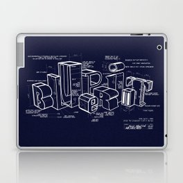 Blueprint Laptop & iPad Skin