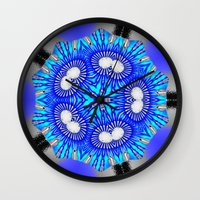 celestial Wall Clocks featuring Celestial by Susan Laine Studios