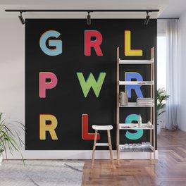 GRL PWR RLS (Girl Power Rules) Wall Mural