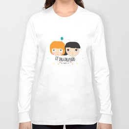 Blythe with a bird Long Sleeve T-shirt