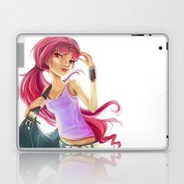 Beach Time Girl Laptop & iPad Skin