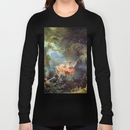Jean-Honoré Fragonard - The Swing Long Sleeve T-shirt