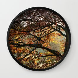 Beauty and Strength Wall Clock