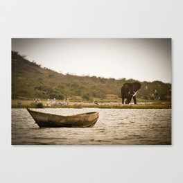 Water is the Source of Life Canvas Print
