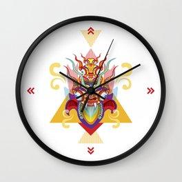 Peru Diablada - Devil Wall Clock