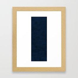Just blu Framed Art Print