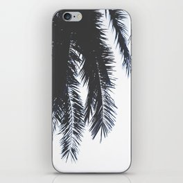Palm Tree leaves abstract iPhone Skin
