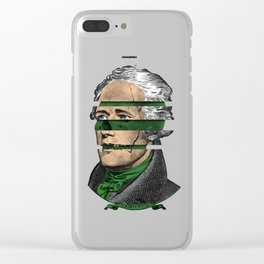 Fake Royalty Clear iPhone Case