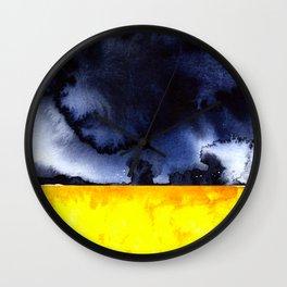 Stormy Sky Wall Clock