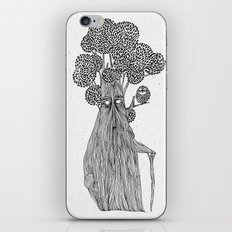the old treebeard & the blind owl iPhone & iPod Skin