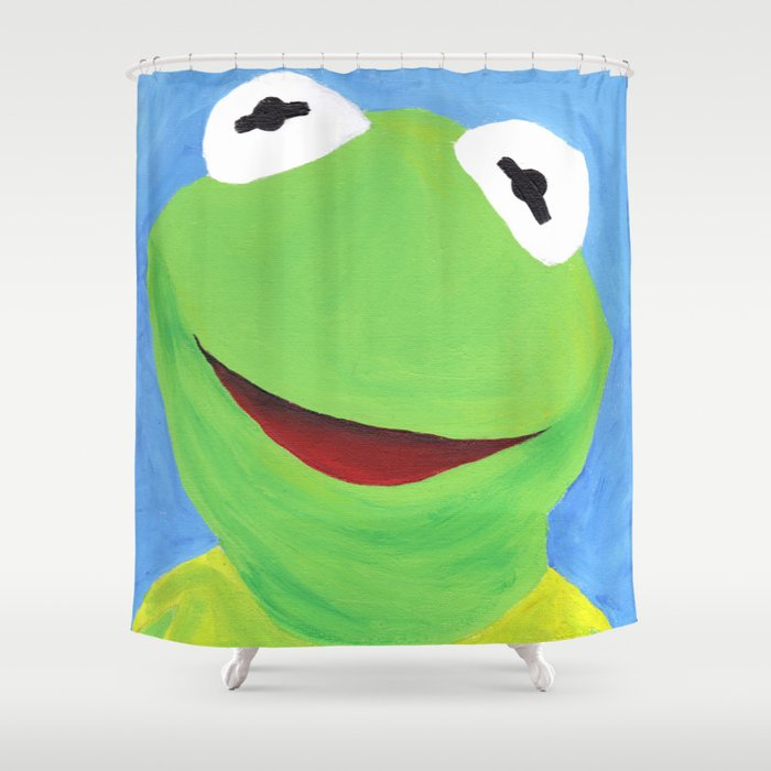 Kermit The Frog Shower Curtain Curtain Menzilperde Net