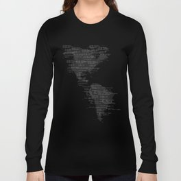 Binary America Long Sleeve T-shirt