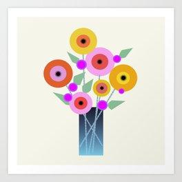Floral Potpourri Art Print