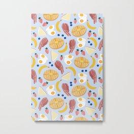 Breakfast Food Metal Print