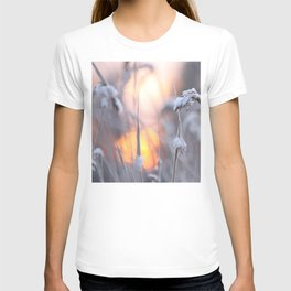 Sunny Winter Day #decor #buyart #society6 T-shirt