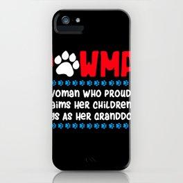 Pawma Definition Design für eine Oma von niedlichen Hunden print iPhone Case