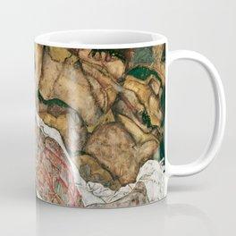 "Egon Schiele ""Death And The Maiden"" Coffee Mug"