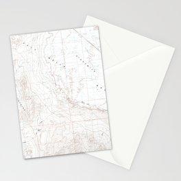NV Bunejug Mts 318274 1985 24000 geo Stationery Cards