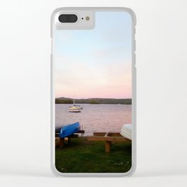 Lake Wentworth New Hampshire Clear iPhone Case
