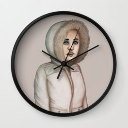 Parka Wall Clock
