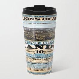 Vintage poster - Iowa and Nebraska Travel Mug