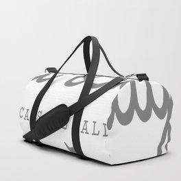 Crazy Town Cat Lady Duffle Bag