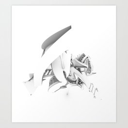 Endogfx Top Art Print