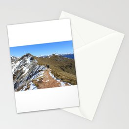 New Zealand Backpacking Adventure Stationery Cards