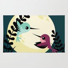 Moonlit Hummingbirds Rug