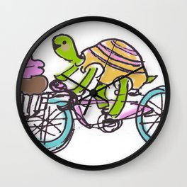 cupcake ride! Wall Clock