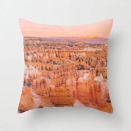 Bryce Canyon Magic  Throw Pillow