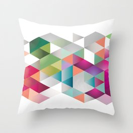 contemporary design Throw Pillow