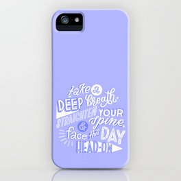 face this day iPhone Case