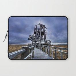 Observation Tower - Great Salt Lake Shorelands Preserve - Utah Laptop Sleeve