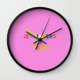 Engineers are born in August T-Shirt D479b Wall Clock