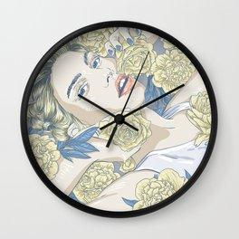 beauty in simple things Wall Clock