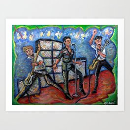 Revolution Rock (The Clash) Art Print