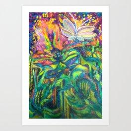 Wonder flower Art Print