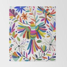 otomi bird Throw Blanket